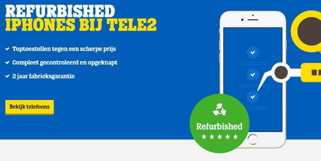 Een zakelijk telefoon abonnement met refurbished toestel